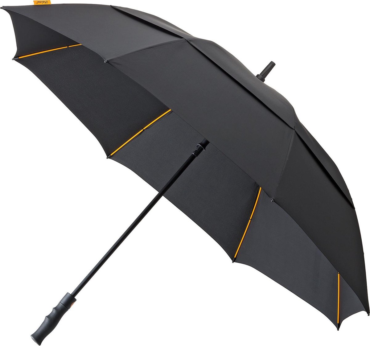 Impliva Paraplu's Golfparaplu Lang Automaat - zwart