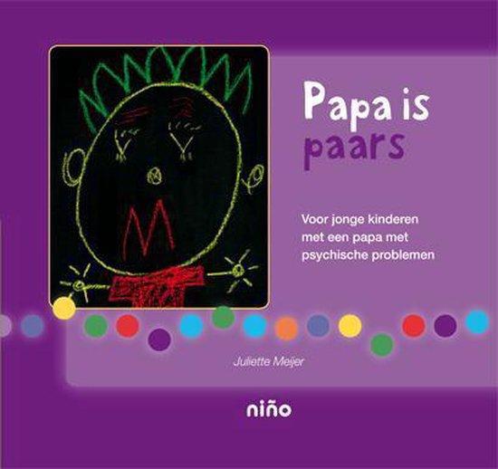 Papa is paars - Juliette Meijer |