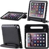 SMH Royal - iPad Air 2 hoes voor kinderen | Foam for Kids | Shockproof Case Hoesje / Cover / Hoes / Bumper / Tablethoes/ Proof | Zeer sterk | Met Handige Handvat | Zwart