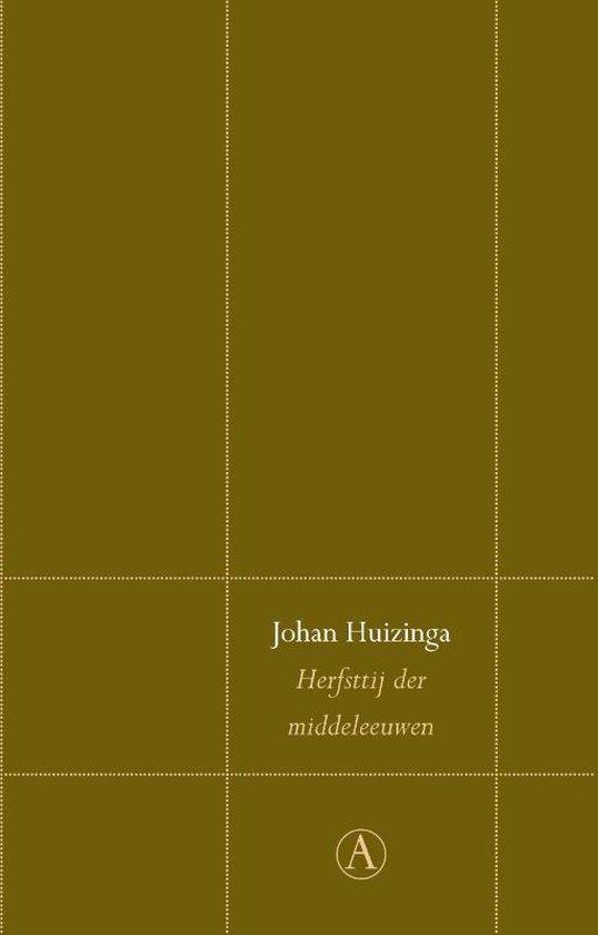 Perpetuareeks 1 - Herfsttij der middeleeuwen - Johan Huizinga |