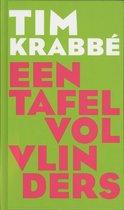 Boek cover Een tafel vol vlinders van Tim Krabbé (Hardcover)