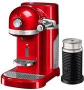 KitchenAid Nespressomachine met melkopschuimer - Keizerrood