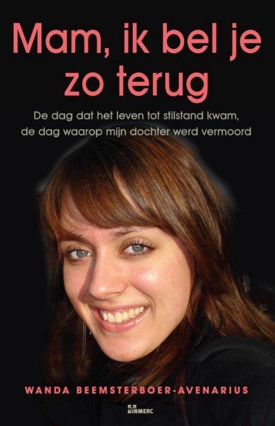 Boek cover Mam, ik bel je zo terug van Wanda Beemsterboer-Avenarius