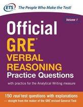 Boek cover Official GRE Verbal Reasoning Practice Questions van Educational Testing Service