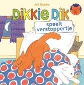Boek cover Dikkie Dik - Speelt verstoppertje van J Boeke