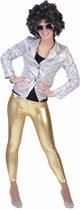 """Legging goudkleurig  - Verkleedstrik - One size"""