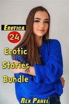 Erotica: 24 Erotic Stories Bundle