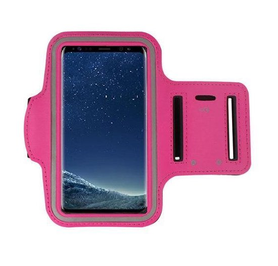 Pearlycase Sport Armband hoes voor Sony Xperia L3 - Roze