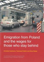 Boek cover Emigration from Poland & the Wages for Those Who Stay Behind van Christian Dustmann