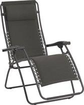 Lafuma RSX gepolsterd - Relaxstoel - Inklapbaar - Verstelbaar - Ardoise