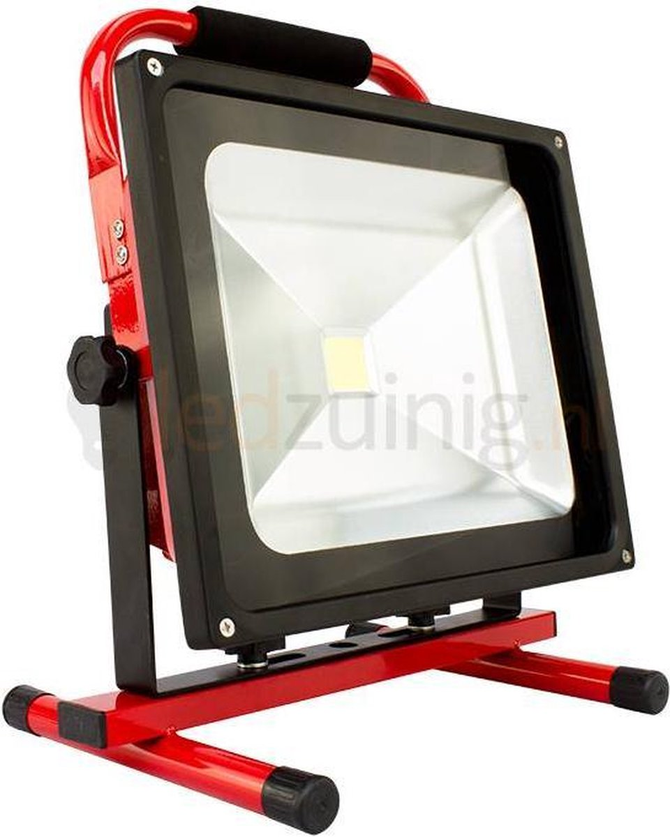 50 watt accu bouwlamp - 6500K - 3500 lumen - EcoProLed
