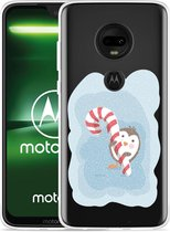 Moto G7 Hoesje Candy Pinquin