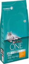 Purina ONE Adult - Kattenvoer Kip & Volkoren Granen - 6 kg