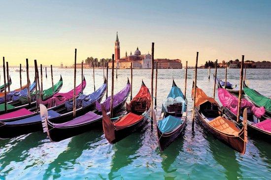 Bol Com Venetie Poster Gondels Gondolas Venice Italie San Marco 61x91 5cm