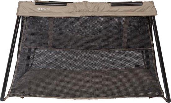 Product: Kidsriver Vicky Campingbed Taupe, van het merk Kidsriver
