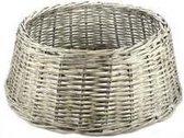 Cosy @ Home boomvoet mand riet grijs - Binnen diameter 40 cm