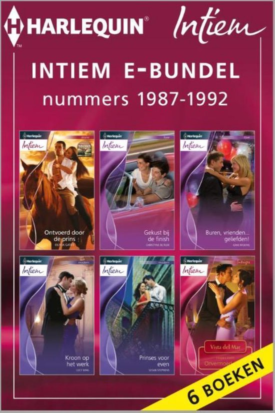 Boek cover Intiem Special - Intiem e-bundel nummers 1987-1992 van Olivia Gates (Onbekend)