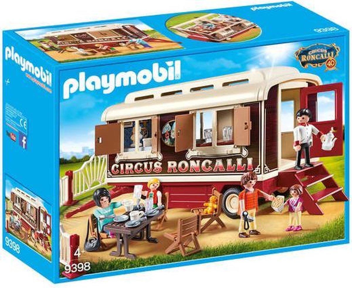 Circus Roncalli - Woonwagen 9398 - Playmobil
