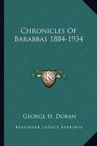 Chronicles of Barabbas 1884-1934