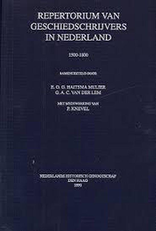 Repertorium geschiedschryvers ned. 1500-1800 - J. Vogel |