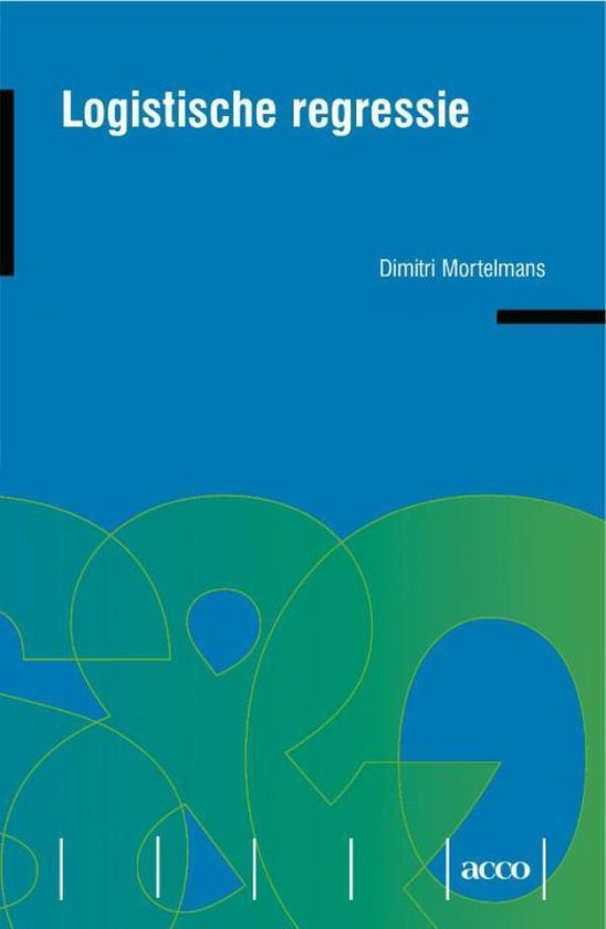 Logistische regressie - Dimitri Mortelmans pdf epub