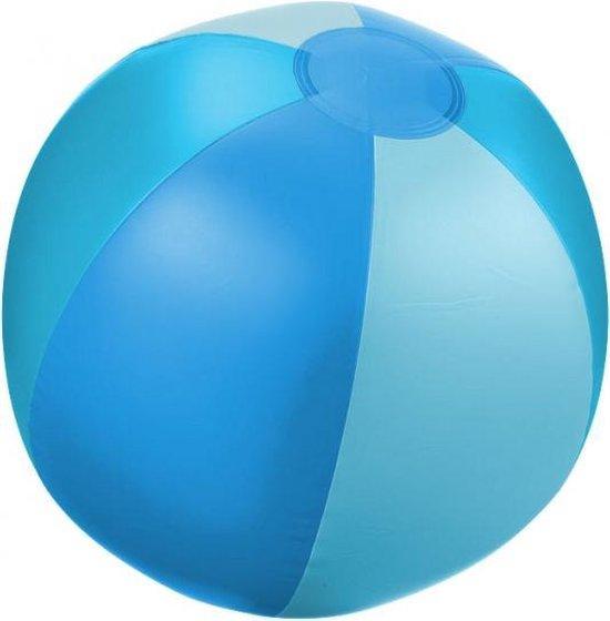 3 opblaasbare strandballen blauw