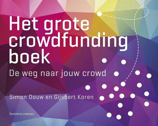 Afbeelding van Het grote crowdfunding boek
