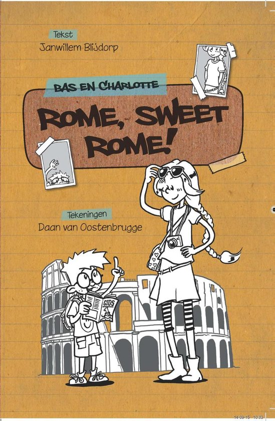 Bas en Charlotte 2 - Rome sweet Rome - Janwillem Blijdorp |
