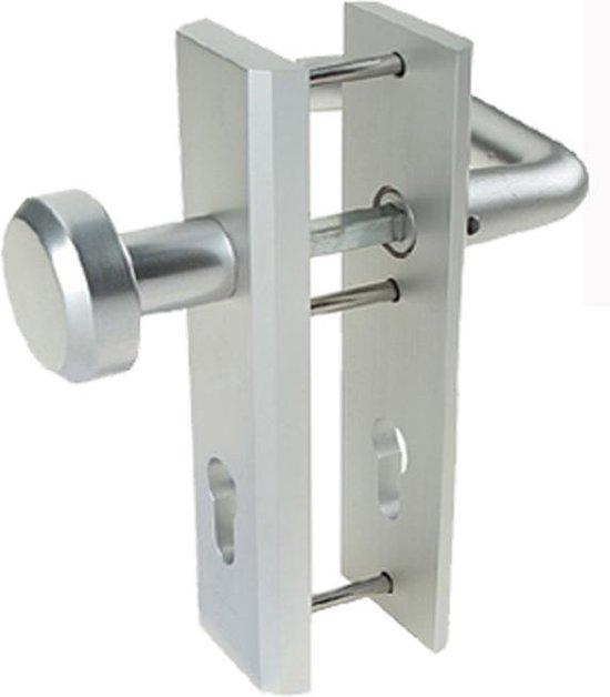 Nemef 3405/55 veiligheidsbeslag - voor voordeuren - knop/kruk - SKG*** - afstand 55mm