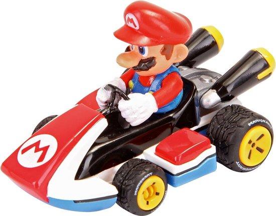 Afbeelding van Auto Pull & Speed Mario Kart 8 - Mario speelgoed