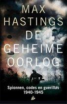 Boek cover De geheime oorlog van Max Hastings (Onbekend)