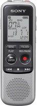 Sony ICD-BX140 - Voicerecorder - 4GB - lichtgrijs