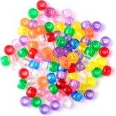 250 Loomfun Kralen Jelly mix Color Kleuren Beads