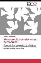 Microcreditos y Relaciones Personales