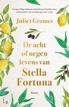 Boekomslag van 'De acht of negen levens van Stella Fortuna'