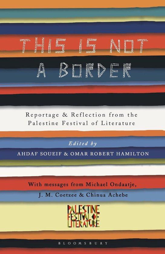 Boek cover This Is Not a Border van J.M. Coetzee (Onbekend)