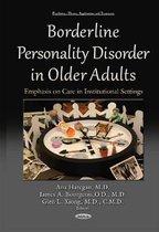 Boek cover Borderline Personality Disorder in Older Adults van