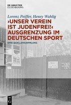 unser Verein Ist Judenfrei!  Ausgrenzung Im Deutschen Sport