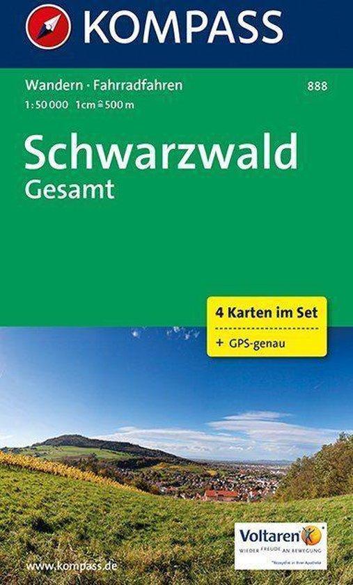 Kompass WK888 Schwarzwald Gesamt - Kompass |
