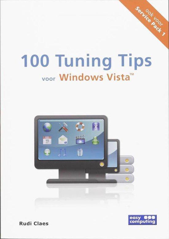 Cover van het boek '100 Tuning Tips voor Windows Vista' van Rudi Claes