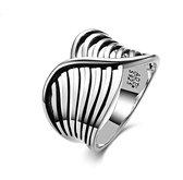 Zilveren Ring - Damesring - Gerhodineerd