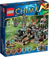 Lego Legends Of Chima: The Croc Swamp Hideout 70014