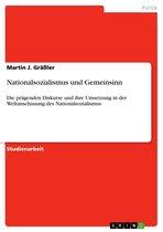 Nationalsozialismus und Gemeinsinn
