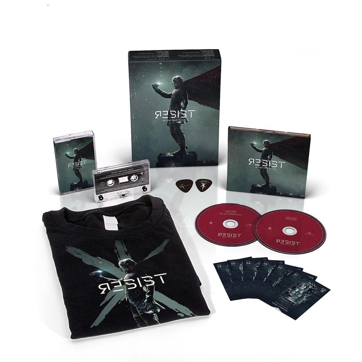 Resist (Limited Boxset + T-Shirt M) - Within Temptation