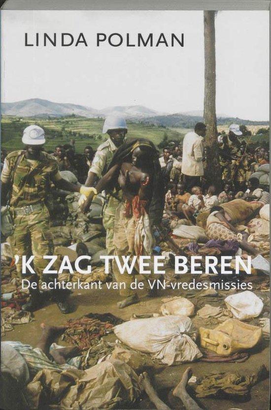Cover van het boek ''k Zag twee beren' van Linda Polman