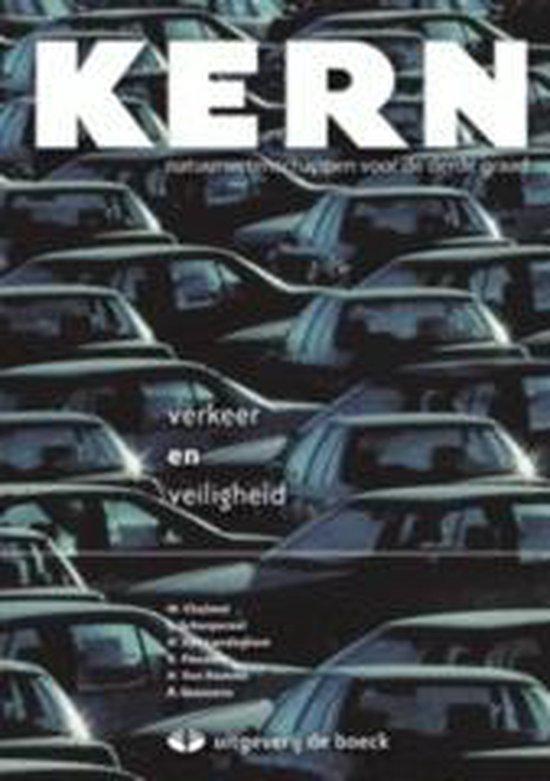 Boek cover Kern thema verkeer en veiligheid - leerboek van Marleen Chalmet (Onbekend)