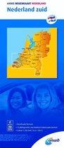 ANWB wegenkaart - Nederland zuid 1:200000