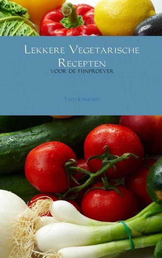 Cover van het boek 'Lekkere vegetarische recepten'