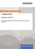 Boek cover Verkehr und CO2 van I. Zeilhofer-Ficker