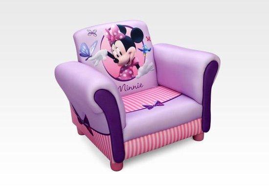 Disney Minnie Mouse Gestoffeerde Stoel Roze 58 X 40 X 45 Cm - Disney